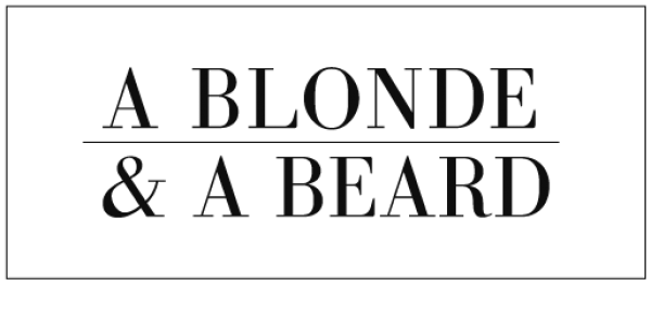 a Blonde and a Beard